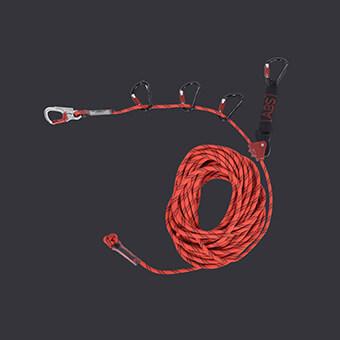 Liny poręczowe Snake- Accen- tymczasowy system linowy