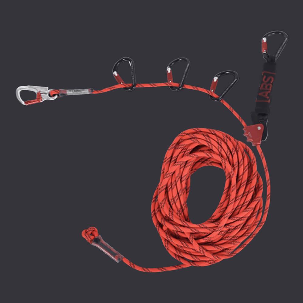 Tymczasowy system linowy- Accen- liny poręczowe