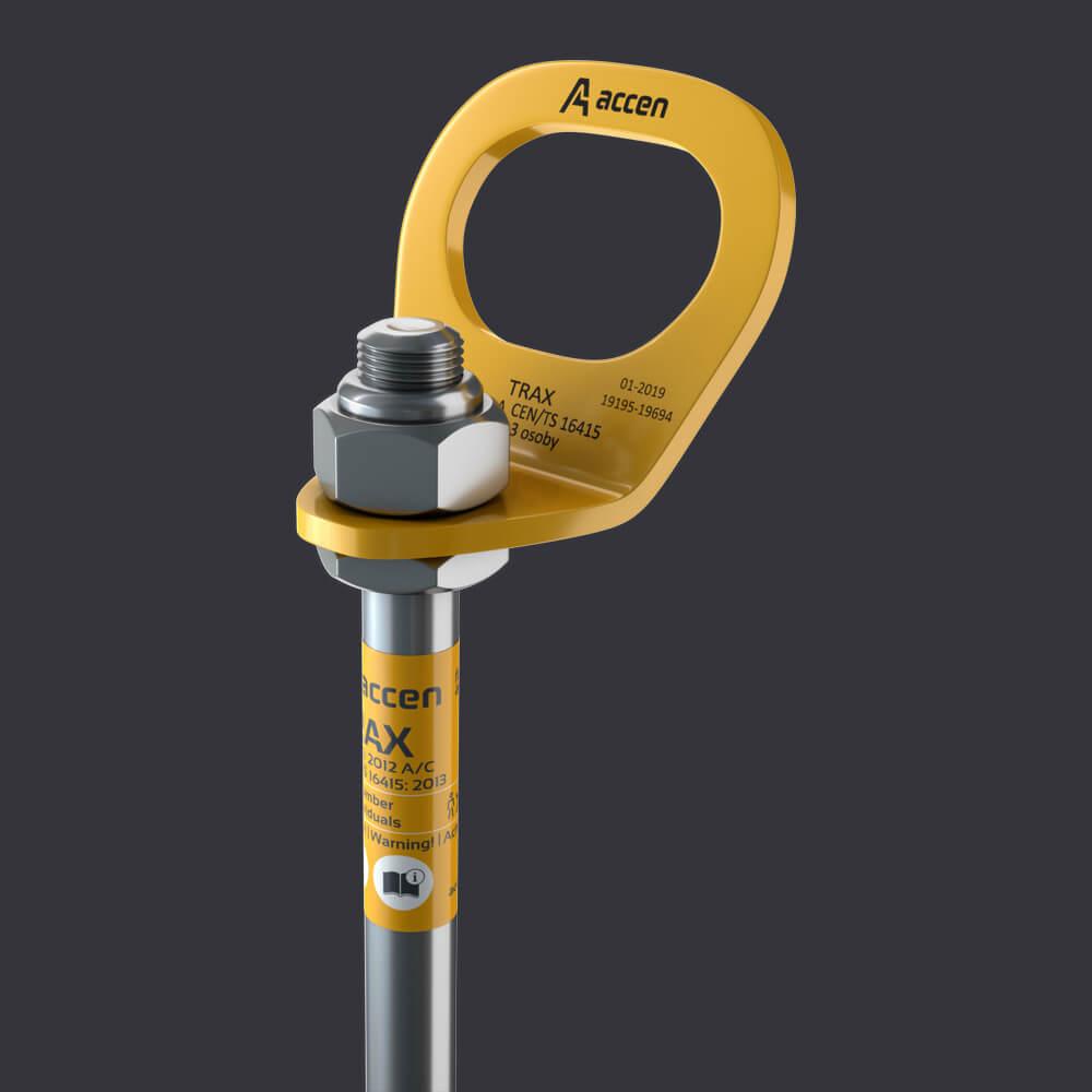 Accen Trax B- punkt kotwiczący-mocowanie do podłoża żelbetowego
