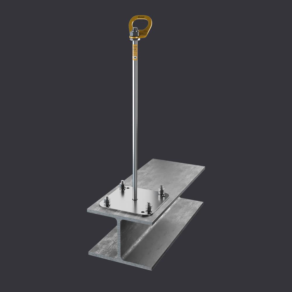 Accen Trax BX ST- punkt kotwiczący-mocowanie do konstrukcji stalowych