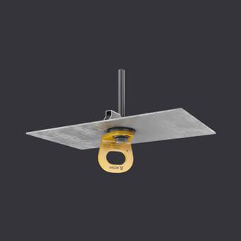 Punkt kotwiczący TRAX LIGHT TR-systemy asekuracyjne dla jednej osoby- montażu na blachach trapezowych