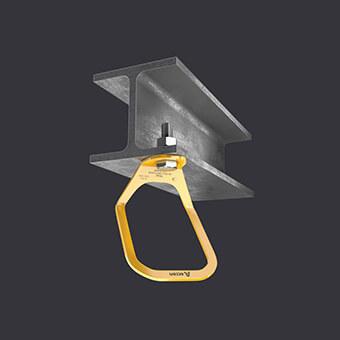 Punkt kotwiczący Trax Light XL-duży punkt wpięcia- mocowanie do podłoża żelbetowego i stalowego