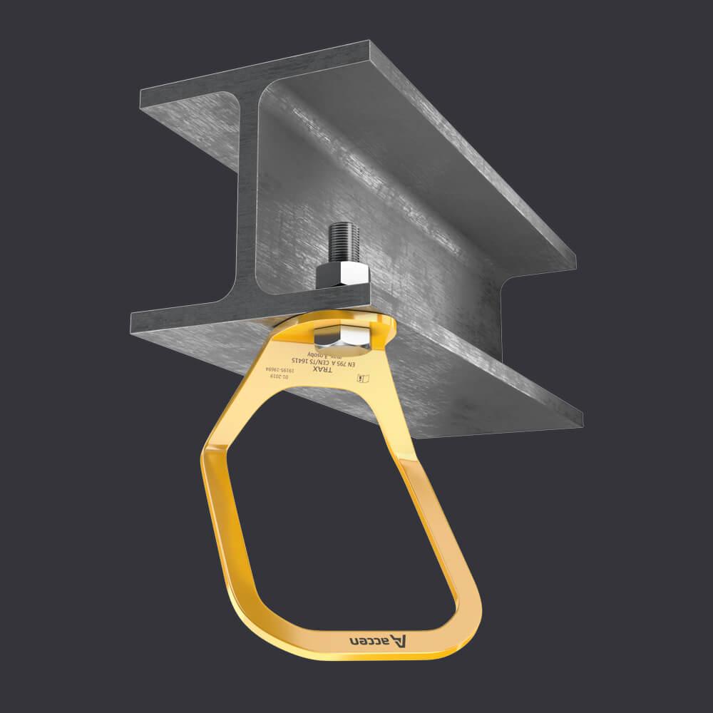 Accen Trax Light XL- punkt kotwiczący-mocowanie do podłoża żelbetowego i stalowego