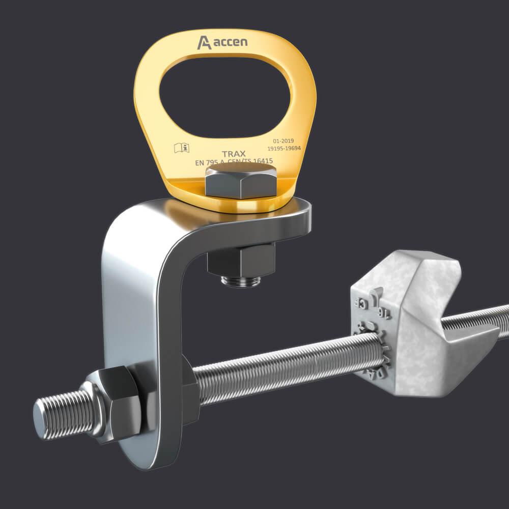 Accen- Punkt kotwiczący dla trzech osób Trax CLAMP