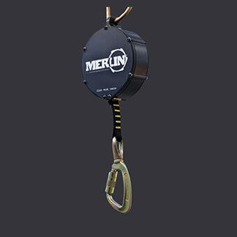 Urządzenie samohamowne Merlin Accen- bezpieczna praca na wysokościach