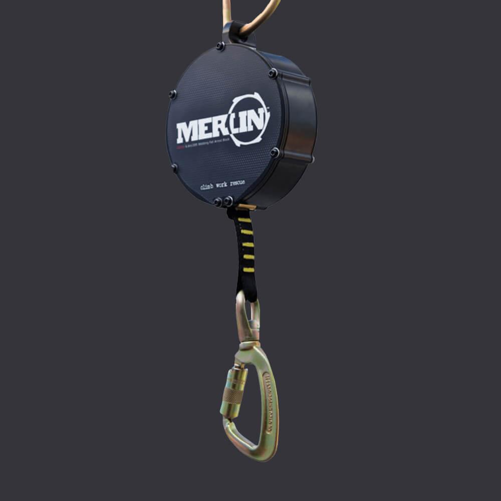 Merlin Accen- urzadzenie samohamowne- ochrona indywidualna