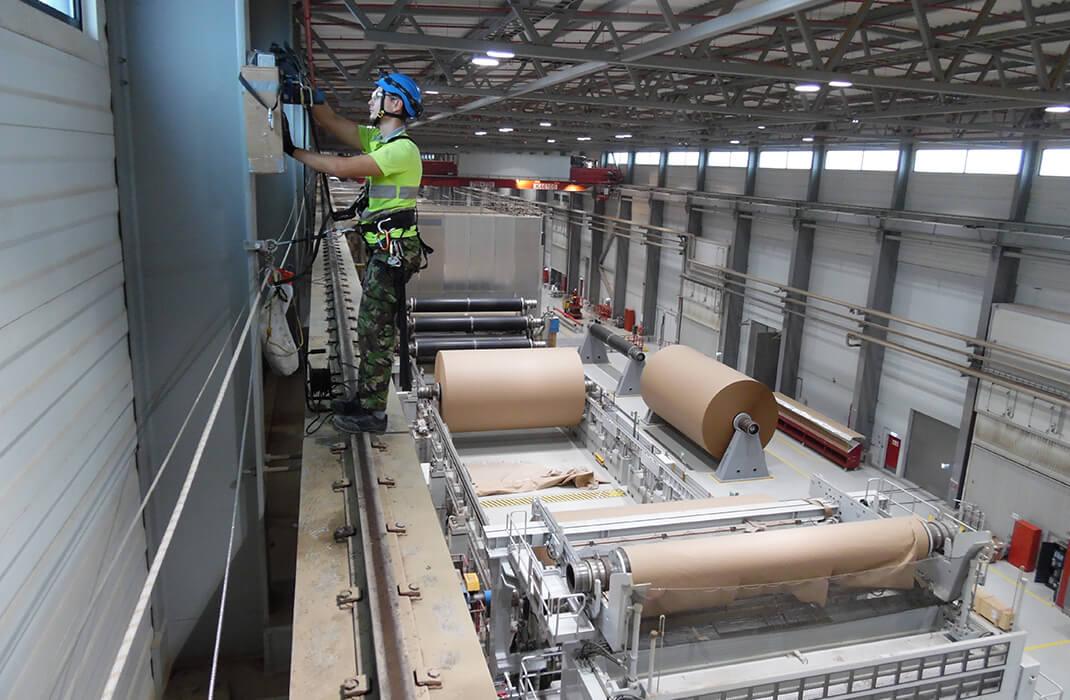Przemysł drzewno-papierniczy - Systemy Asekuracyjne- Accen- realizacje 1