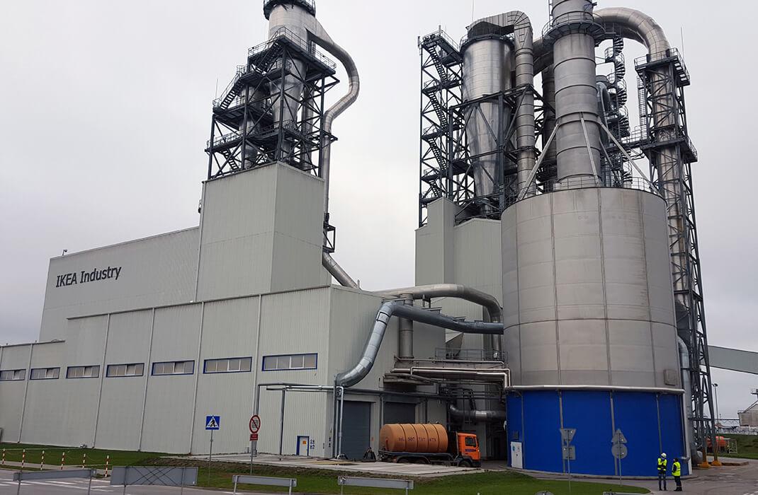 Przemysł drzewno-papierniczy - Systemy Asekuracyjne- Accen- realizacje 5