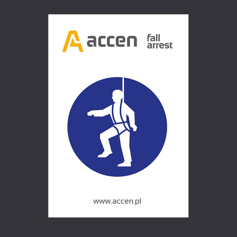 Tabliczka nakazu- akcesoria BHP- Accen Plate
