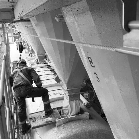 Systemy asekuracyjne- branża- cementowo-wapiennicza