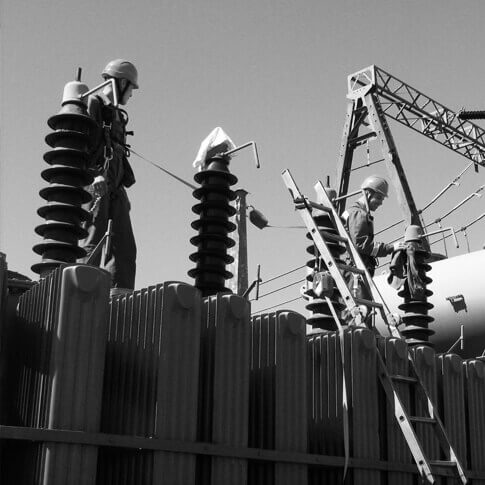Systemy asekuracyjne- branża- energetyka