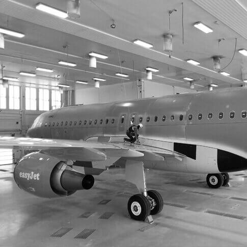 Systemy asekuracyjne- branża- lotnictwo