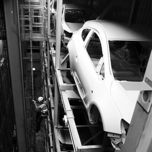 Systemy asekuracyjne- branża- motoryzacja