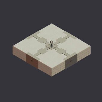 Bezwładna masa kotwicząca - Stonekit - podpora-punkt kotwiczący